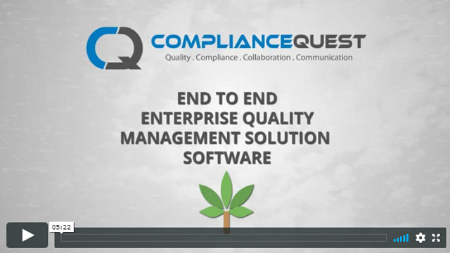 EQMS for the Cannabis Industry