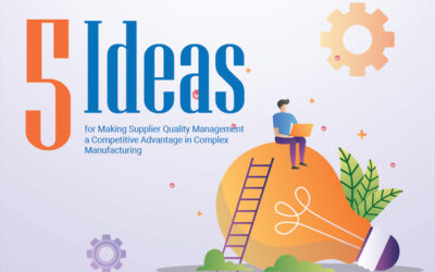 Five Ideas for Making Supplier Quality Management a Competitive Advantage in Complex Manufacturing