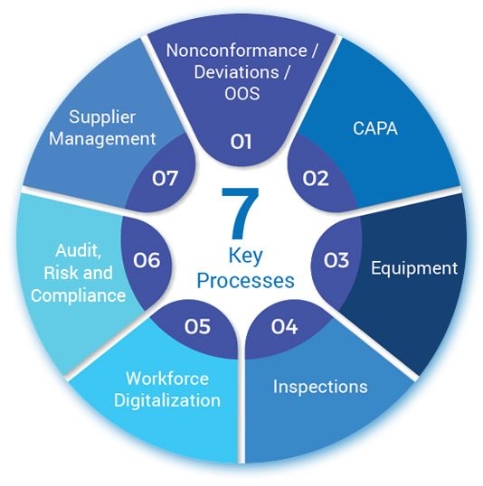 7 Key Processes of Quality Management System