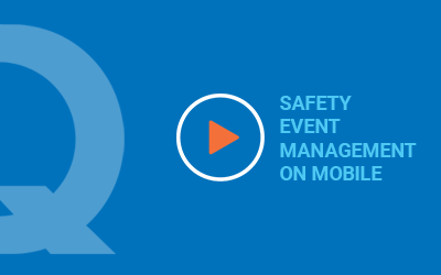 Safety Event Management on Mobile