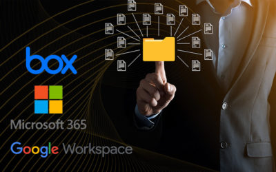 Streamline Your Document Management Lifecycle with integration to Box, Google and Microsoft 365